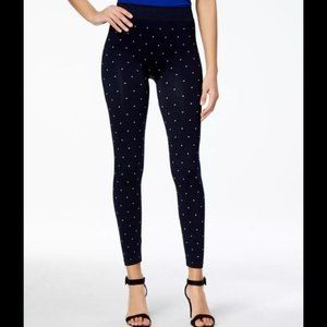 First Looks Stretchy Polka Dotted Leggings- L/XL